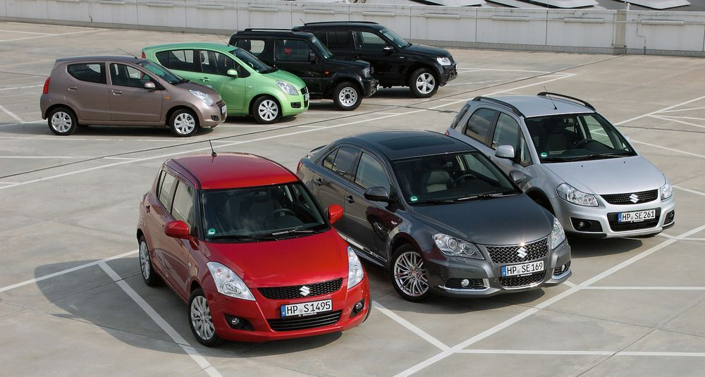 2010 Suzuki - All Models