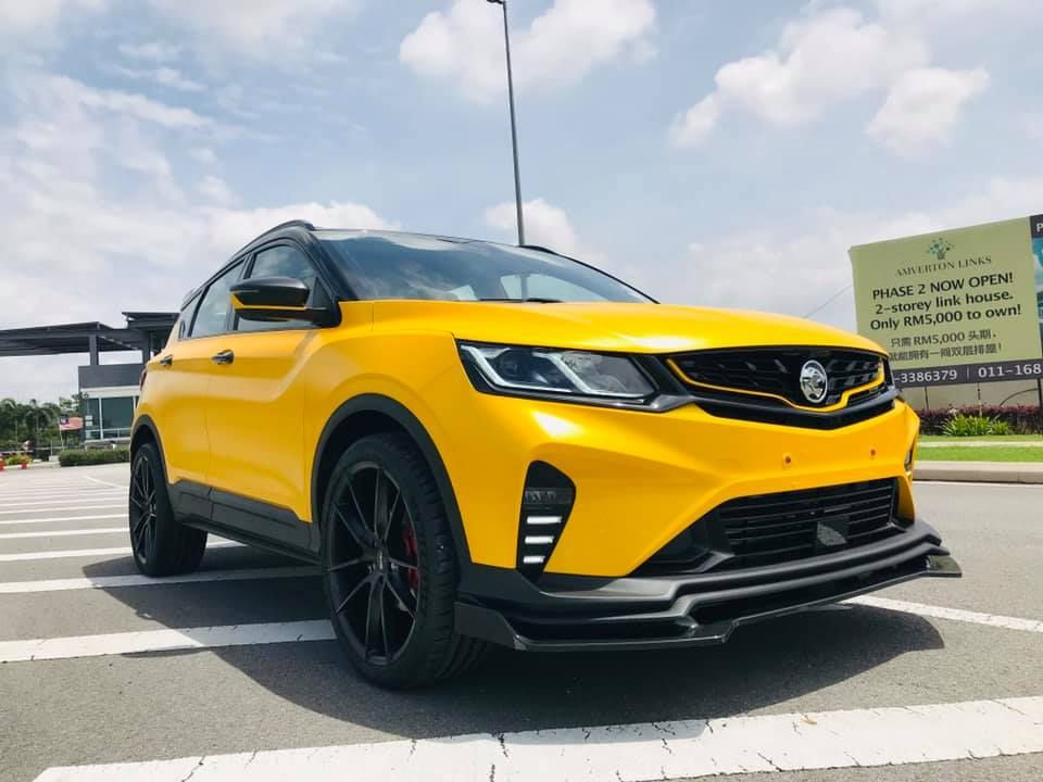 2020 Proton X50 Bumblebee Front Right View