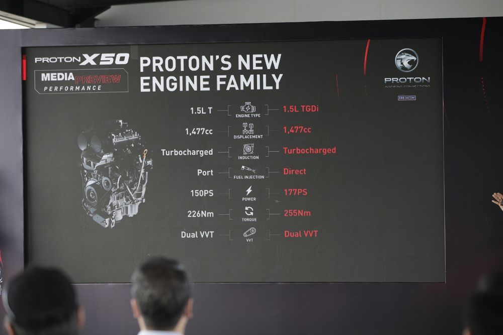 Proton X50 Media Drive Engine