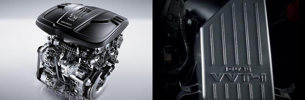 Myvi and X50 engine