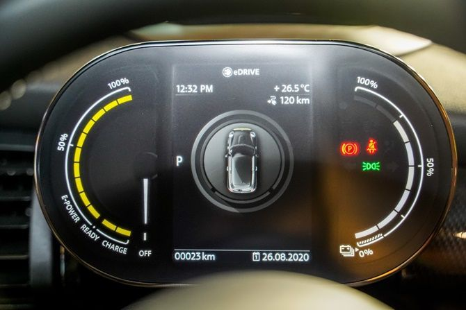 MINI Cooper SE Launched in Malaysia RM 218381 Instrument Clusters