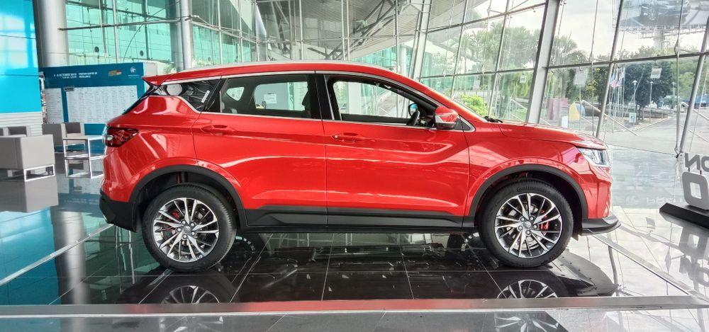 2020 Proton X50 Premium Side View