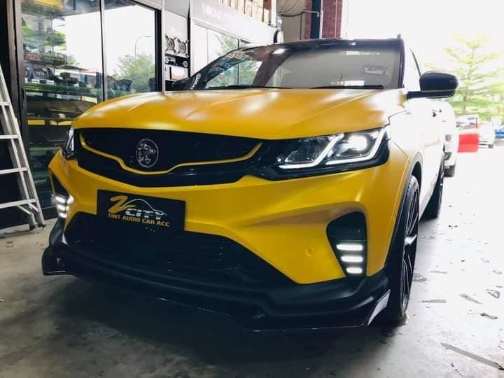 2020 Proton X50 Bumblebee Front View