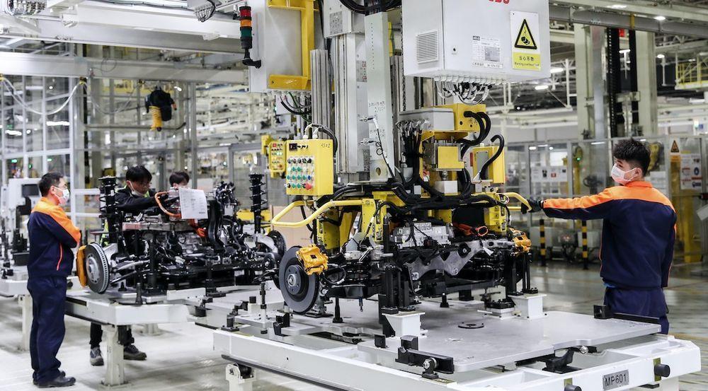 Volvo Plant Gothenburg