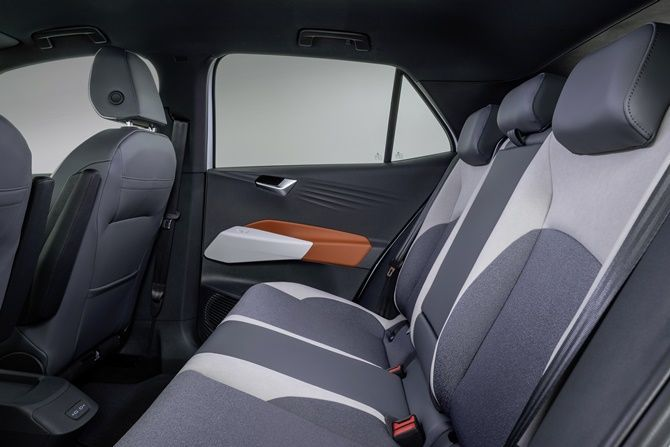 The Future Is Now Volkswagen ID3 Goes On Sale Rear Seats