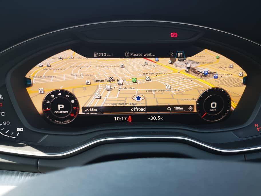Audi A5 2.0 Live Cockpit