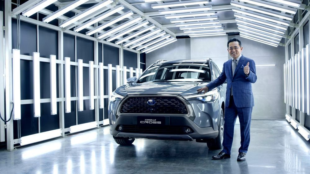 Toyota Corolla Cross Thailand Launch
