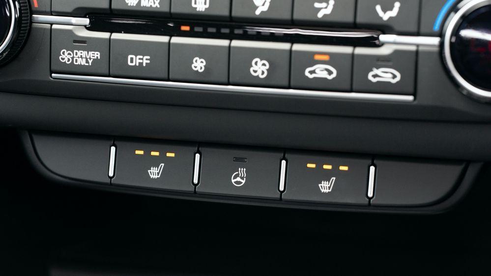Kia HVAC controls