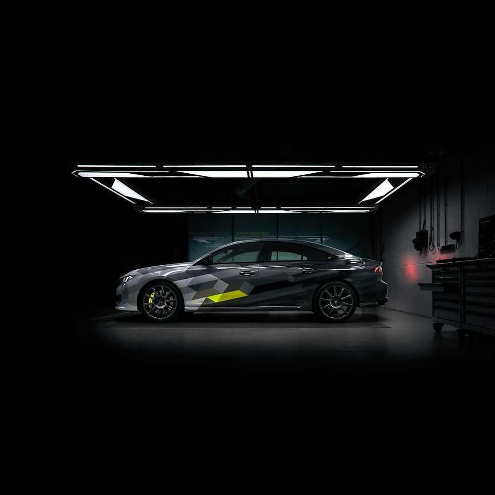 2020 Peugeot 508 Sport Engineered Side Profile