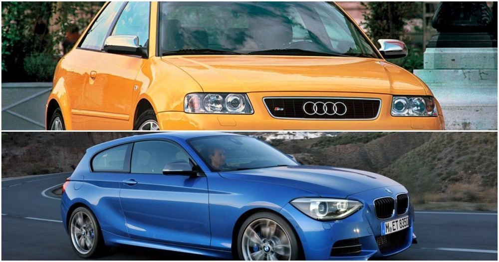 Audi S3 8L and BMW 135i