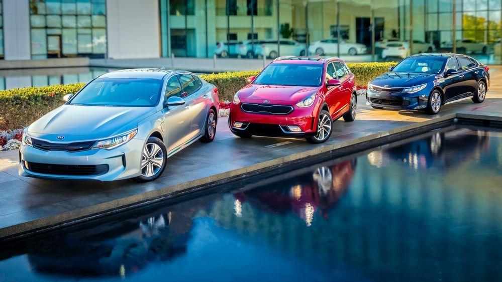 Kia Cars Line Up