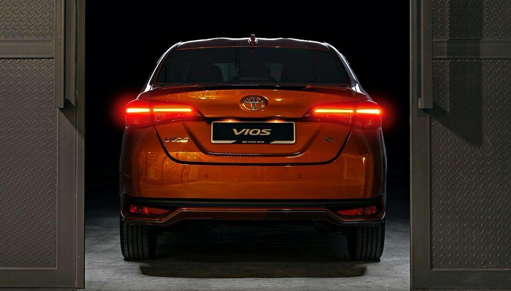 2020 Toyota Vios G - Orange Metallic
