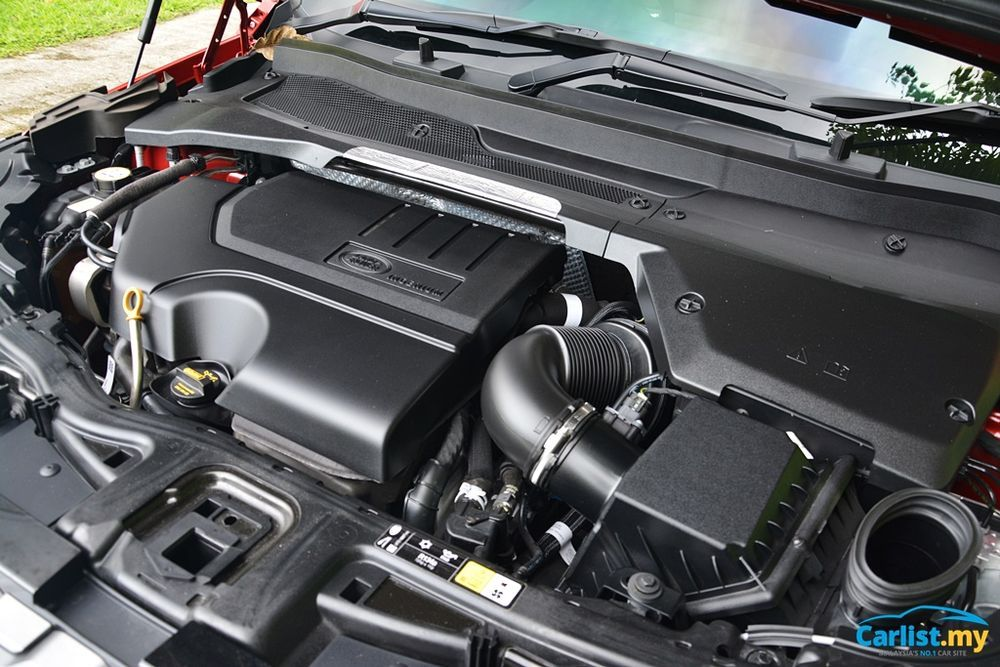2020 Land Rover Discovery Sport 2.0L R Dynamic engine