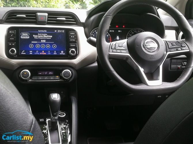 Review 2020 Nissan Almera Leaps And Bounds Interior Tight