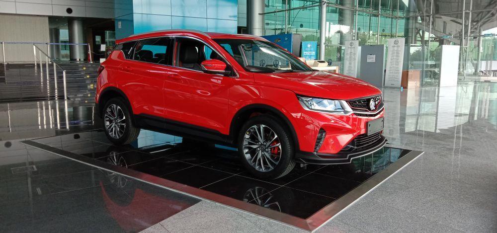 SUV,proton x50,segmen-b