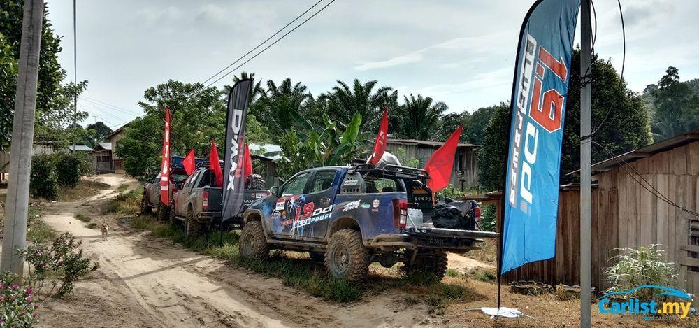 2019 Borneo Safari Expedition - Isuzu convoy