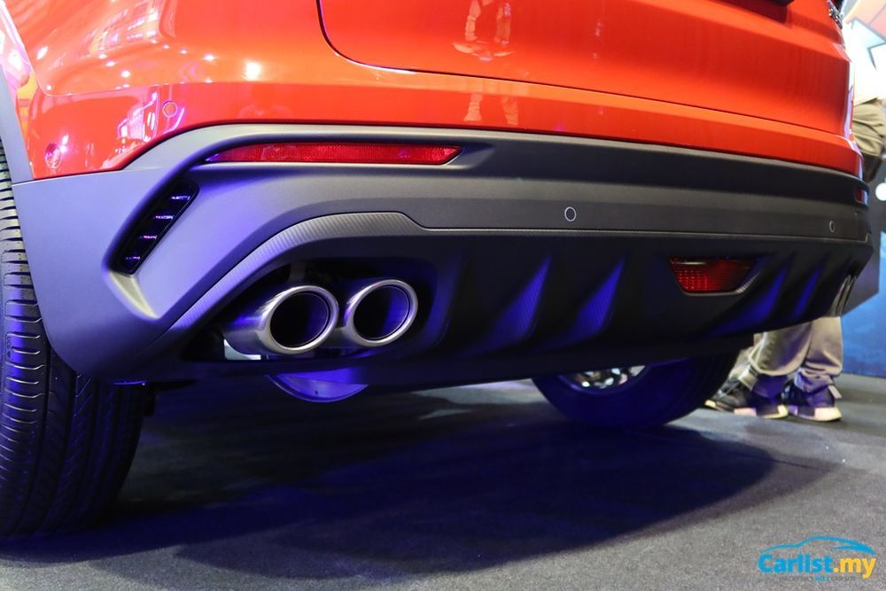 2020 Proton X50 diffuser and exhaust