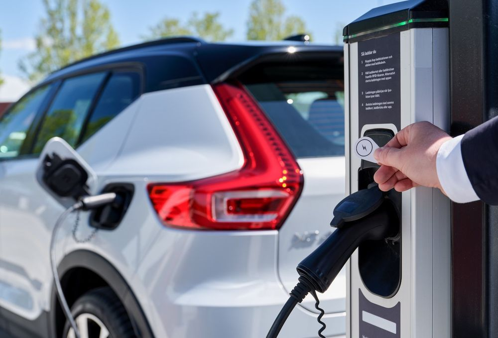 Volvo XC40 - Charging Station
