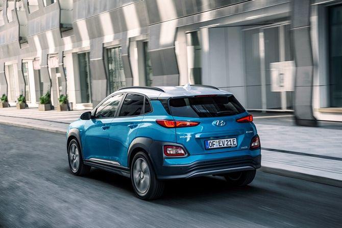 Hyundai Kona Meets COMOS The EV Solution We Need Rear Three Quarter