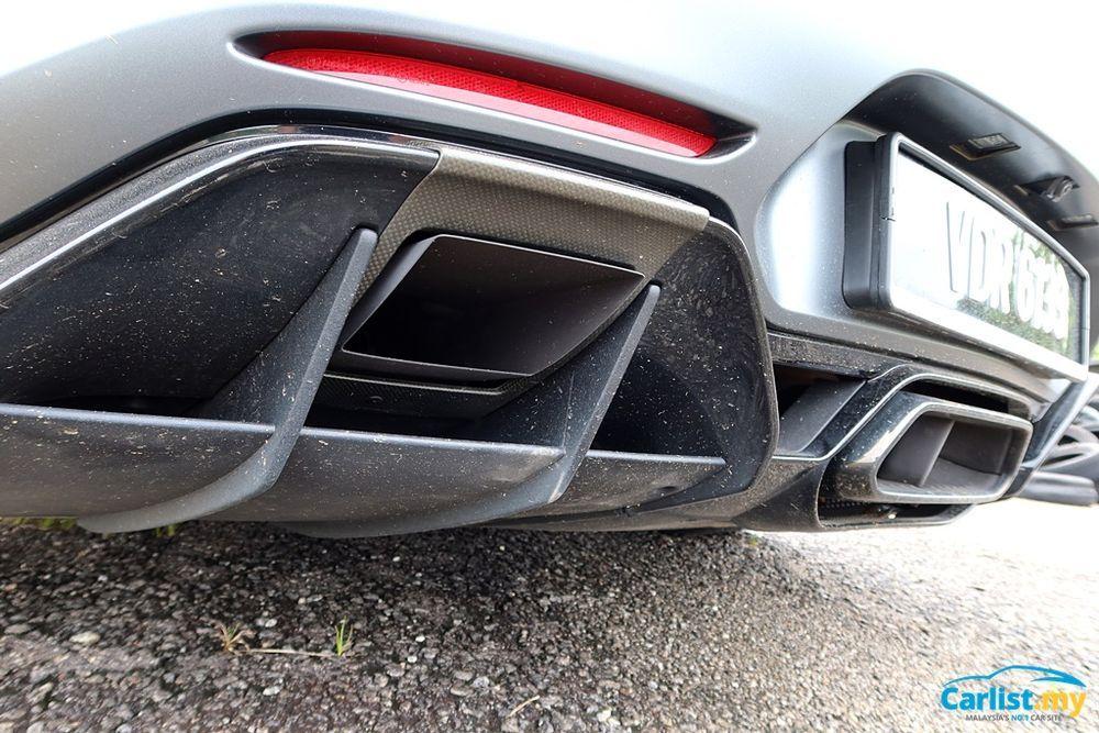 (C190) Mercedes-AMG GTR Diffuser