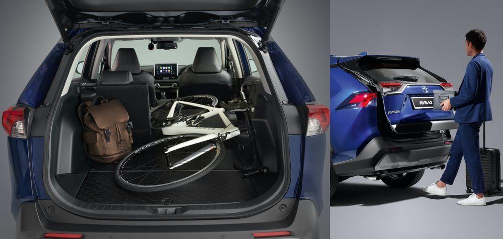 2020 Toyota RAV4 - Boot