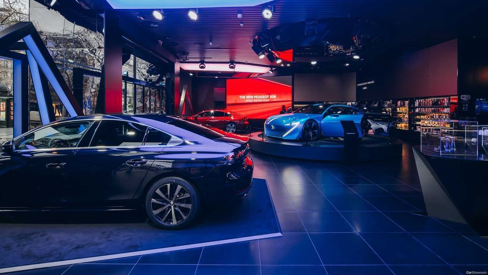 Peugeot Concept Showcase