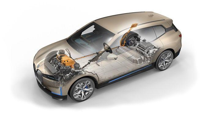 2021 BMW iX Next Driving System