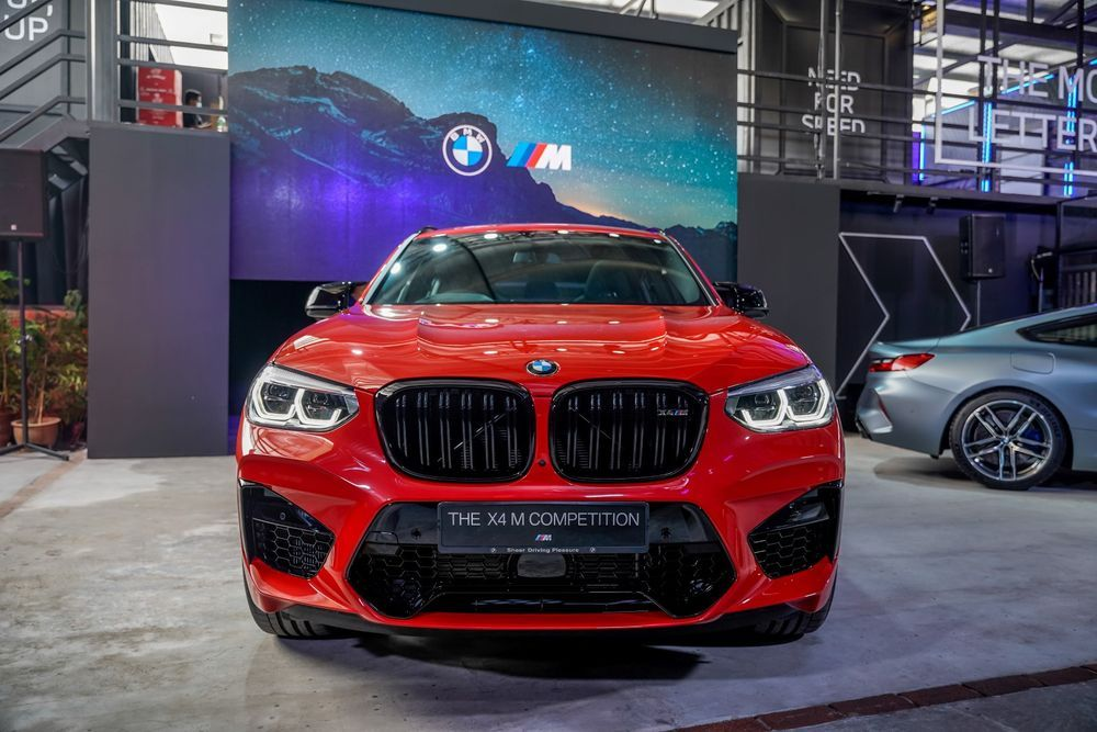 bmw x4m competition grille