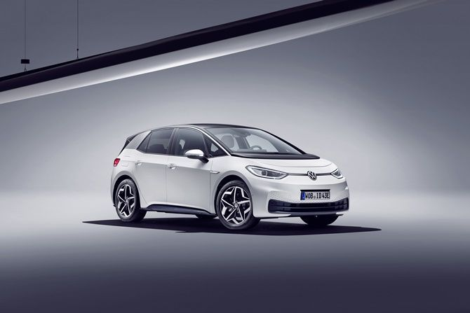 The Future Is Now Volkswagen ID3 Goes On Sale Front Three Quarter