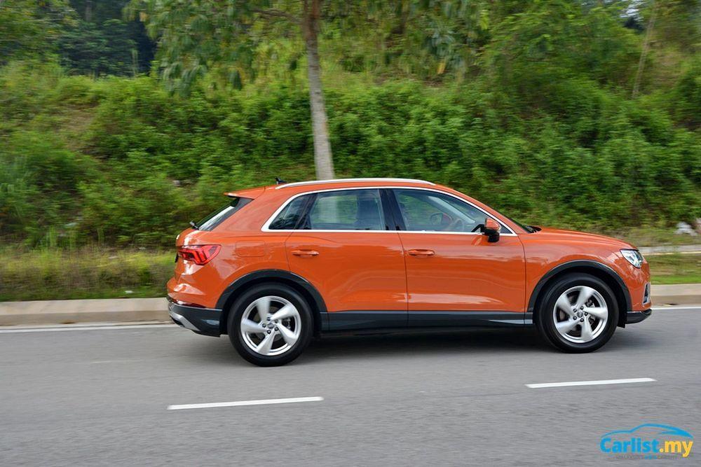 2020 Audi Q3 1.4L TFSI Side