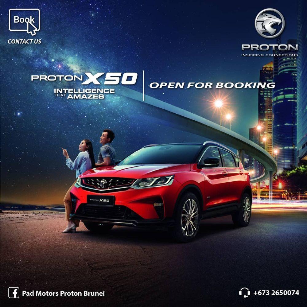 Pad Motors Brunei Proton X50