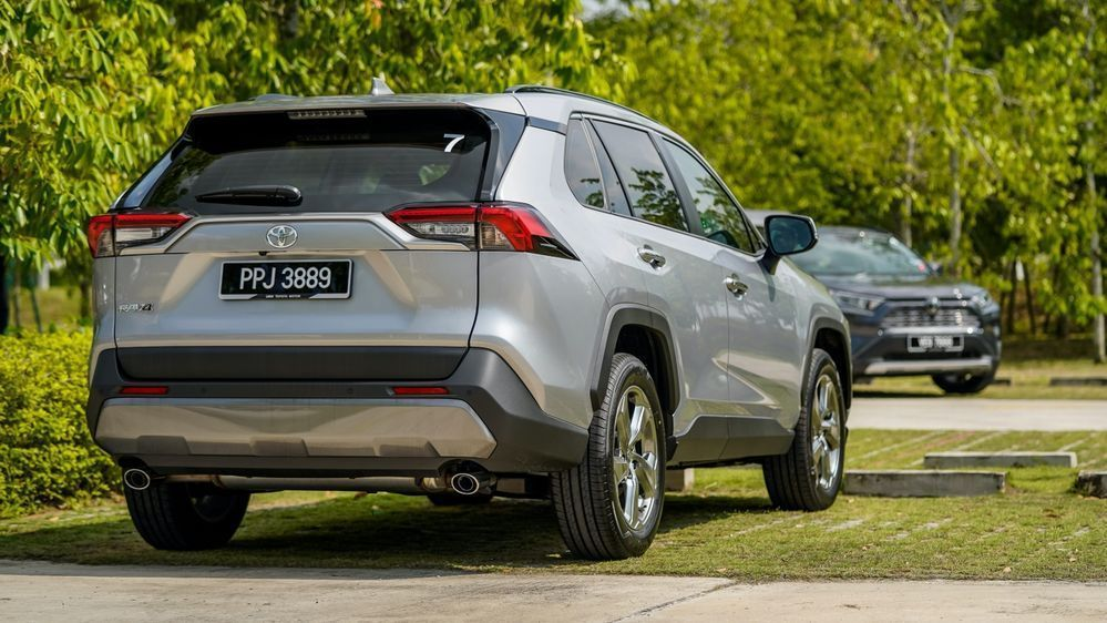 Review: Can These 5 Things Justify the Toyota RAV4's Price Tag? Toyota RAV4 rear