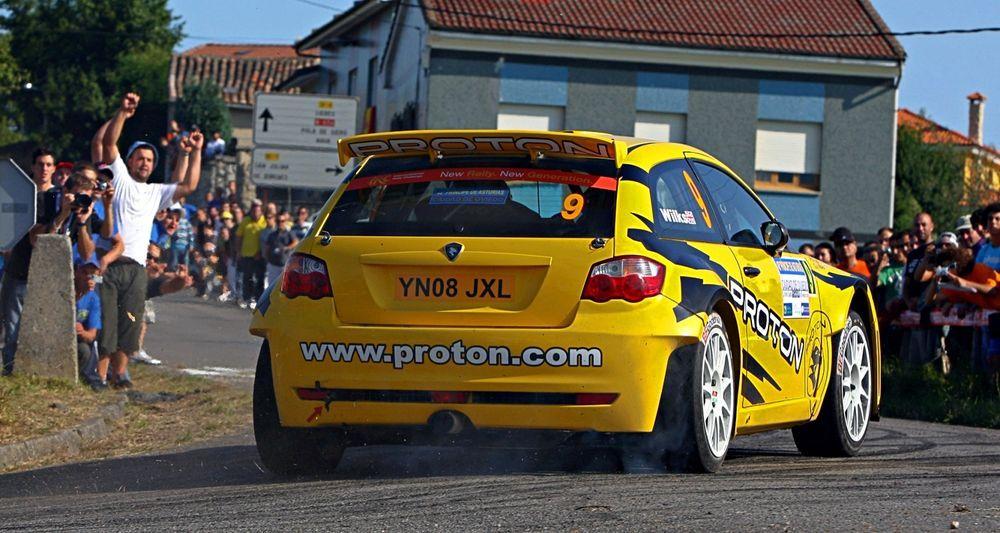 2009 Proton Satria Neo Rally