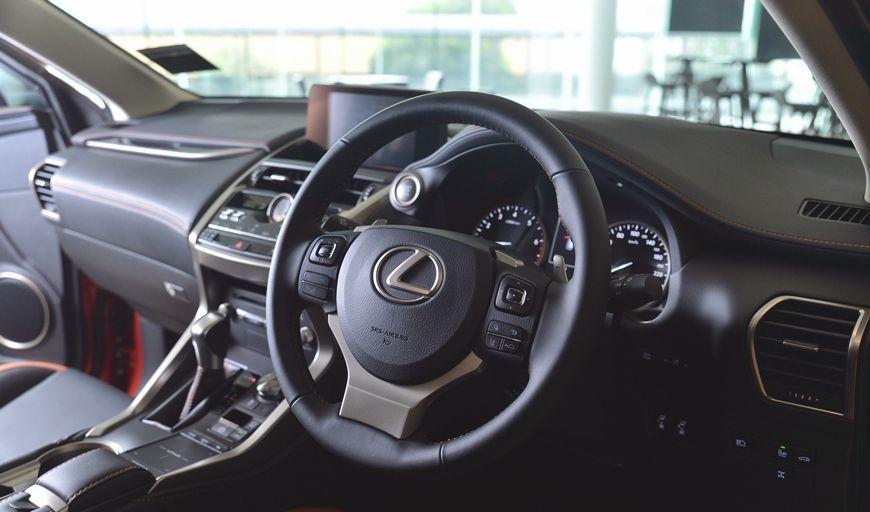 Lexus NX300 Premium Steering Wheel
