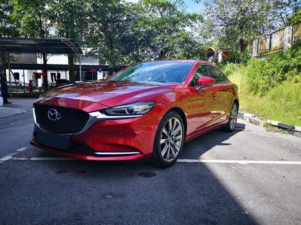 2020 Mazda 6 2.5L front side view