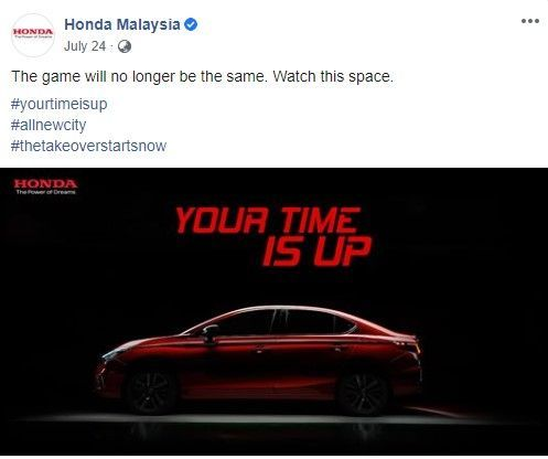 Honda City Teaser