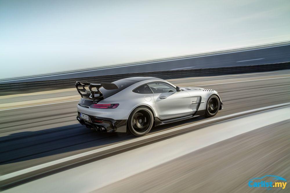 C190 Mercedes-AMG GT Black Series Rear
