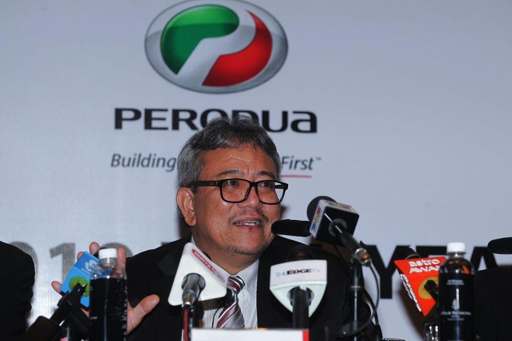 Perodua CEO, Dato' Zainal Abidin Ahmad