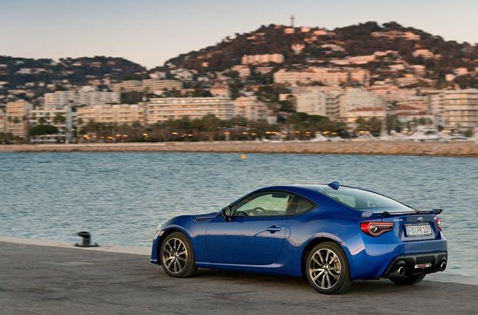 Why We Still Love The Toyota 86 And Subaru BRZ Rear Three Quarter Blue