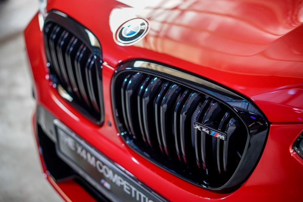 bmw x4m competition front nose