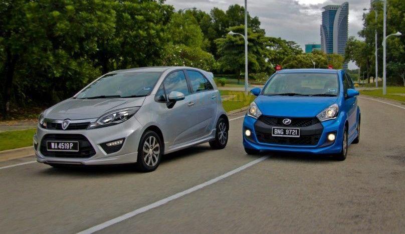 2016 Perodua Myvi vs 2015 Proton Iriz