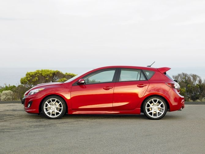 The Mazda 3 MPS Is Coming Back At Least In The USA Side View