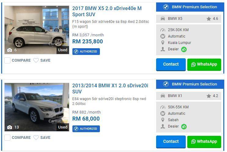 BMW Premium Selection on Carlist.my