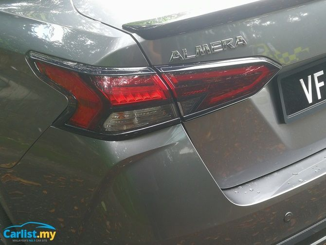 Review 2020 Nissan Almera Leaps And Bounds Rear Badge