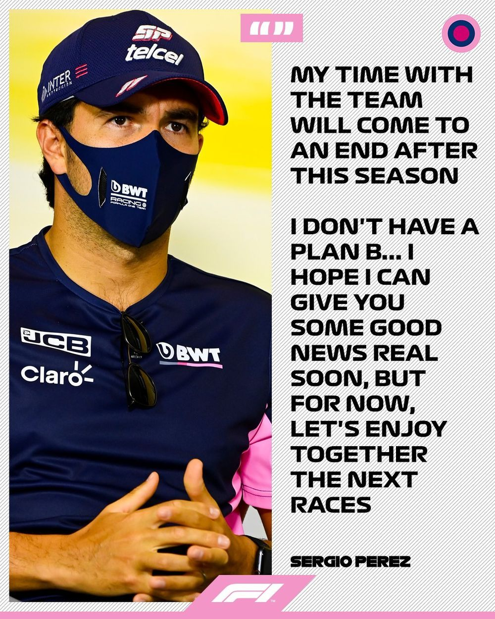 Sergio Perez Leaving Racing Point Statement