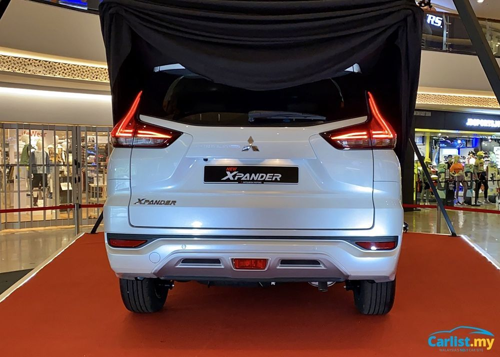 2020 Mitsubishi XPander Teased Rear