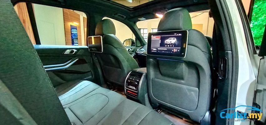 BMW X5 xDrive45e M Sport Interior Rear