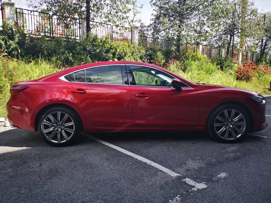 2020 Mazda 6 2.5L side view