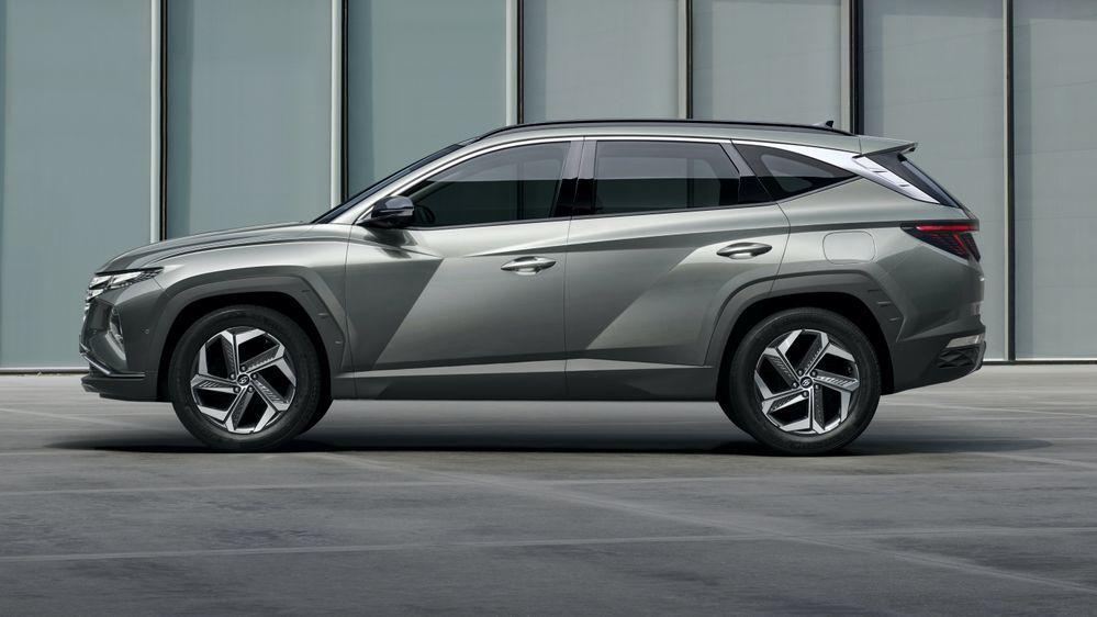 2021 Hyundai Tucson Side Profile