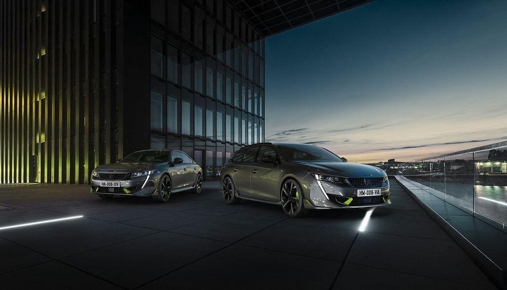 2020 Peugeot 508 Sport Engineered Sedan and SW